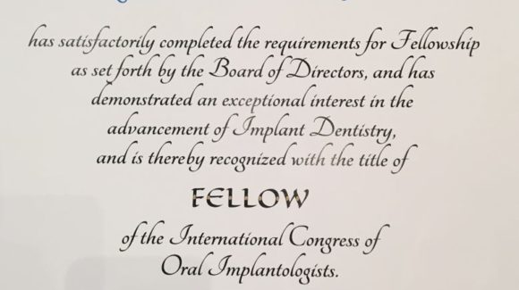 Oficjalny europejski tytuł implantologa